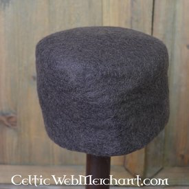 15th century felt hat Dürer, brown