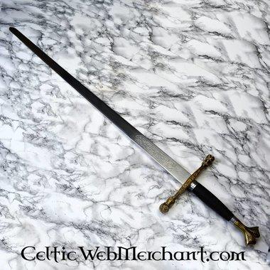 Epée de Charles V, avec fourreau