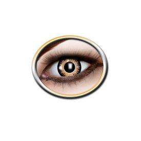 Epic Armoury lentilles de contact de couleur noire et jaune