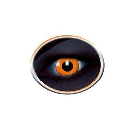 Epic Armoury Barwne soczewki kontaktowe UV pomarańczowy
