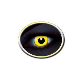 Epic Armoury Kolorowe soczewki kontaktowe UV żółty