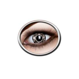 Epic Armoury lensens contact colorée en noir et gris