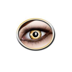 Epic Armoury lentes de contacto de color amarillo y blanco