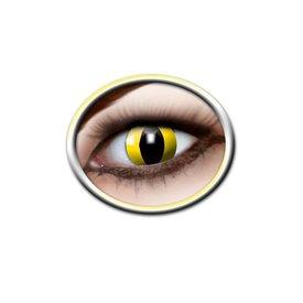 Epic Armoury Lentilles de contact colorées yeux de chat jaunes