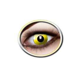 Epic Armoury Las lentes de contacto de color amarillo brillante