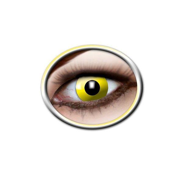 Epic Armoury Kolorowe soczewki kontaktowe jasnożółty