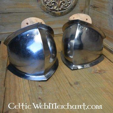 Genouillères médiévales