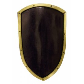 Iron Fortress LARP kite shield negro