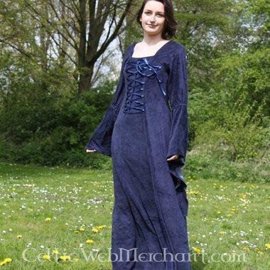 Vestido Aline azul