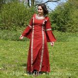 Robe Cleena, rouge