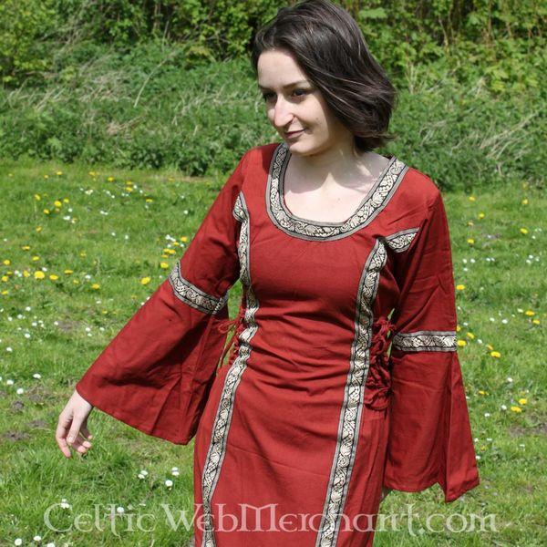 Dress Cleena red