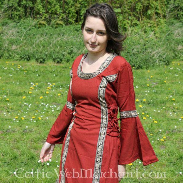 Vestido Cleena rojo