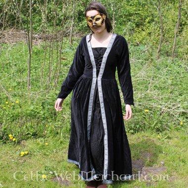 Vestido Borgia negro
