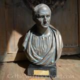Bronzed bust Cicero