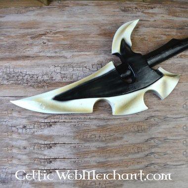 Dark Elven oorlogshamer, foam, een LARP wapen