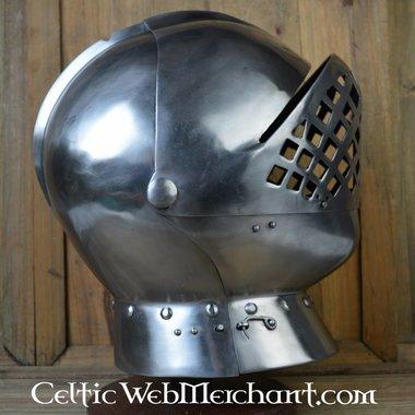Henry VIII jousting helmet