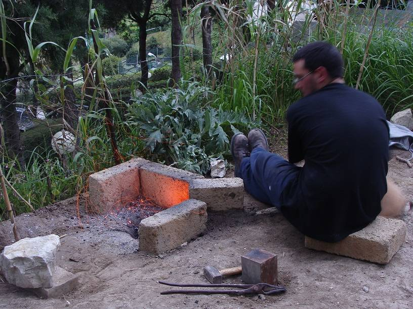 Picenian Iron Age forge