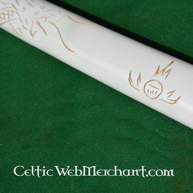 Katana drago bianco