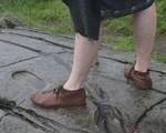 Scarpe stile Alto Medioevo