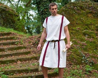 Replika ubrania starożytności i prehistorii