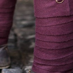 Trousers, leg wrapping & chausses