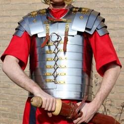 Romersk og græsk plade rustning