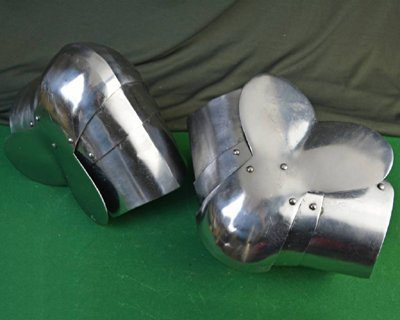Battle-ready foot & leg armour