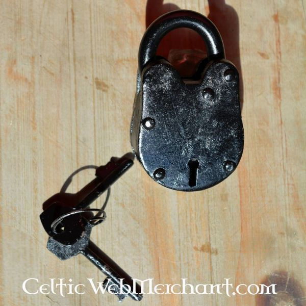 Small historical padlock