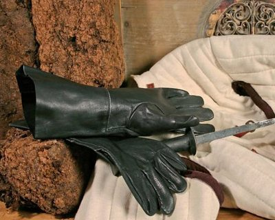 Des gants de cuir