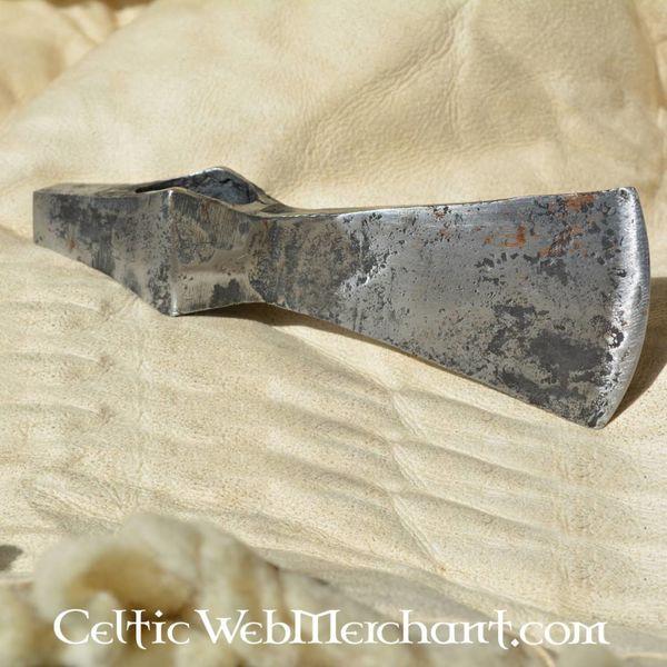Ulfberth Lame (fer) de hache à marteau, patinée, prête au combat