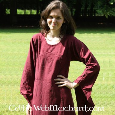 Dress Fand red