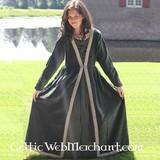 Vestido Borgia verde