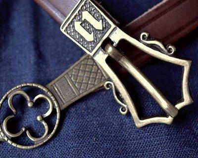 ceintures médiévale et début-modernes