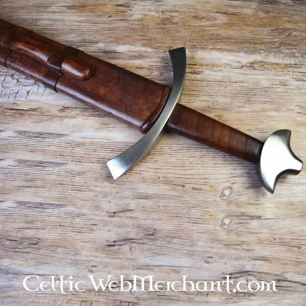 Deepeeka 13de eeuwse eenhander, Oakeshott type XIII, battle-ready