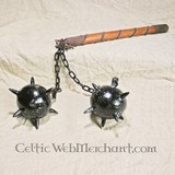 Flail with black handle