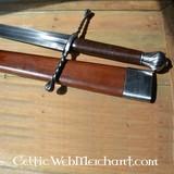 Epée à une main et demi, Oakeshott type XVa, prête au combat