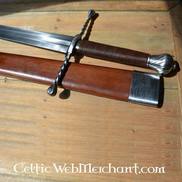 Deepeeka Epée à une main et demi, Oakeshott type XVa, prête au combat