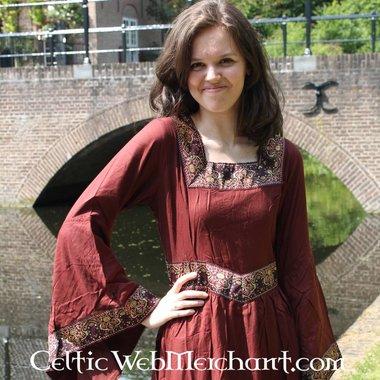 Vestito Anna Boleyn rosso