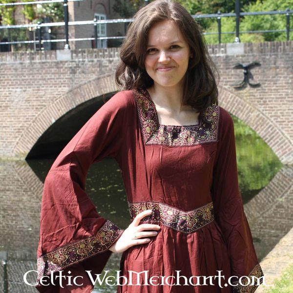Vestido Anna Boleyn rojo