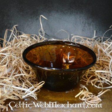 Merovingian palm cup amber