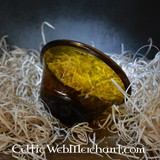 Merovingian palm cup amber