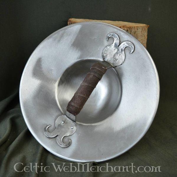 Ulfberth Bouclier recouvert de cuir L