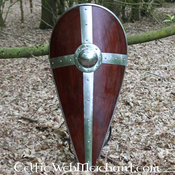 Versterkt Normandisch schild