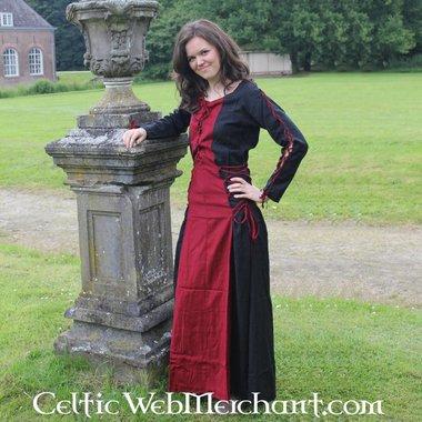 Robe Fea, noir et rouge