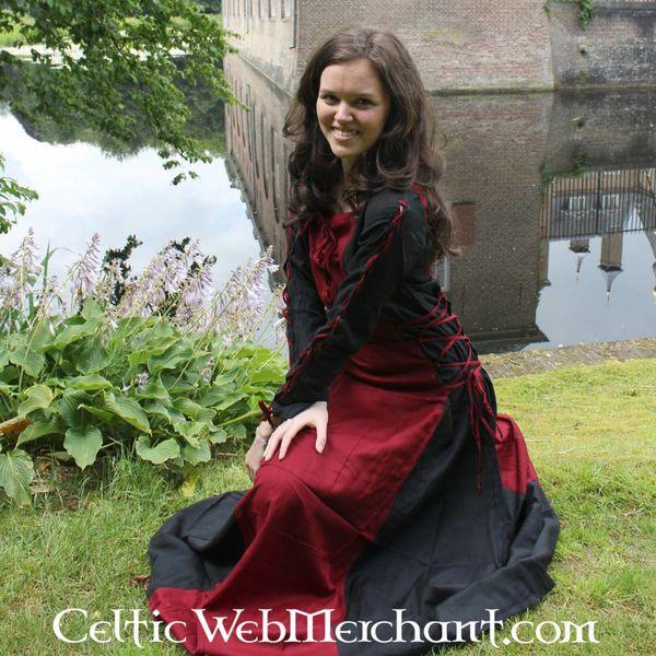 Vestido Fea negro-rojo