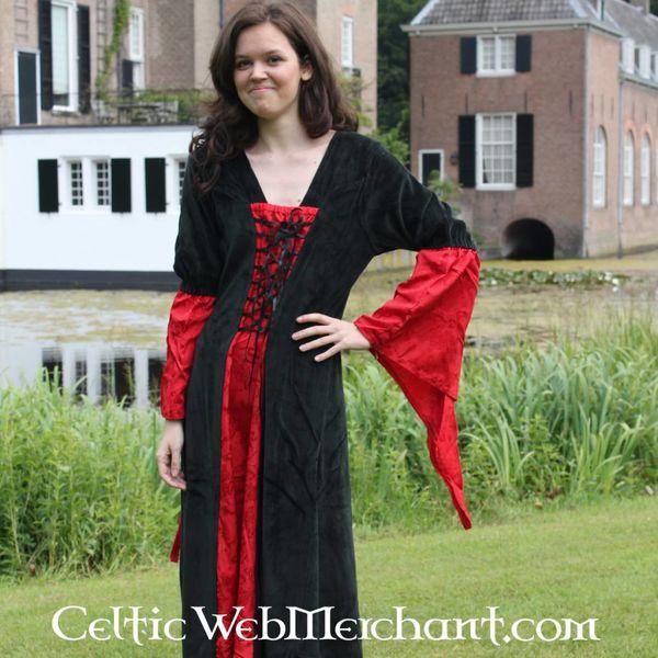 Vestito Lí Ban rosso-nero