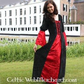 Vestido Lí Ban rojo-negro