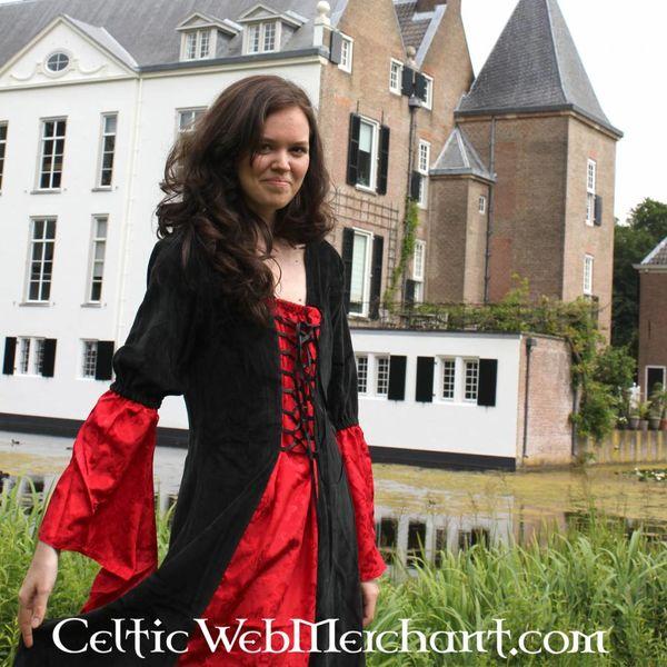 Robe Lí Ban rouge-noir