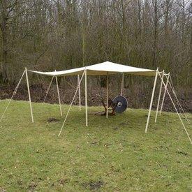 Tarpaulin 4 x 4 m 350 g/m²
