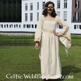 Kjole Anna Boleyn hvid
